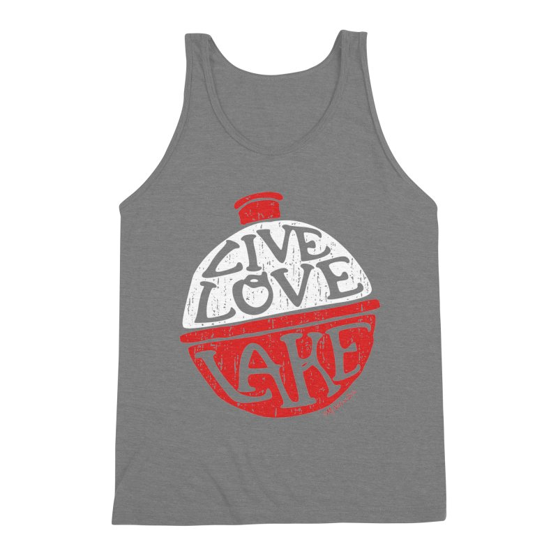 Live Love Lake - Bobber Men's Tank by My Nature Side