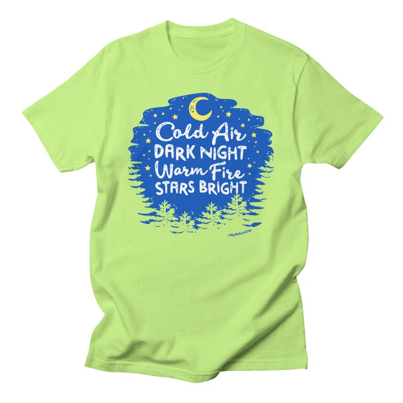 Camping Nights Men's T-Shirt by My Nature Side