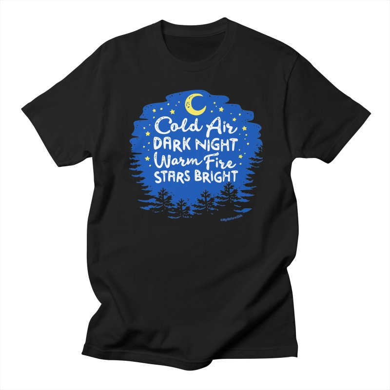 Camping Nights Men's Regular T-Shirt by My Nature Side