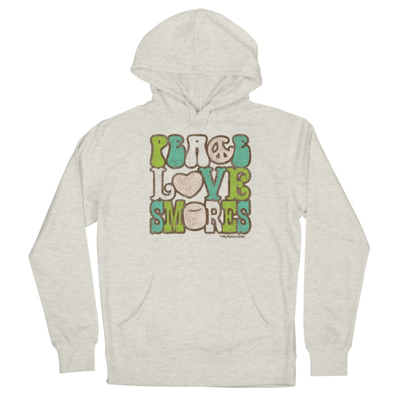 Peace Love Smores Men's Pullover Hoody by My Nature Side