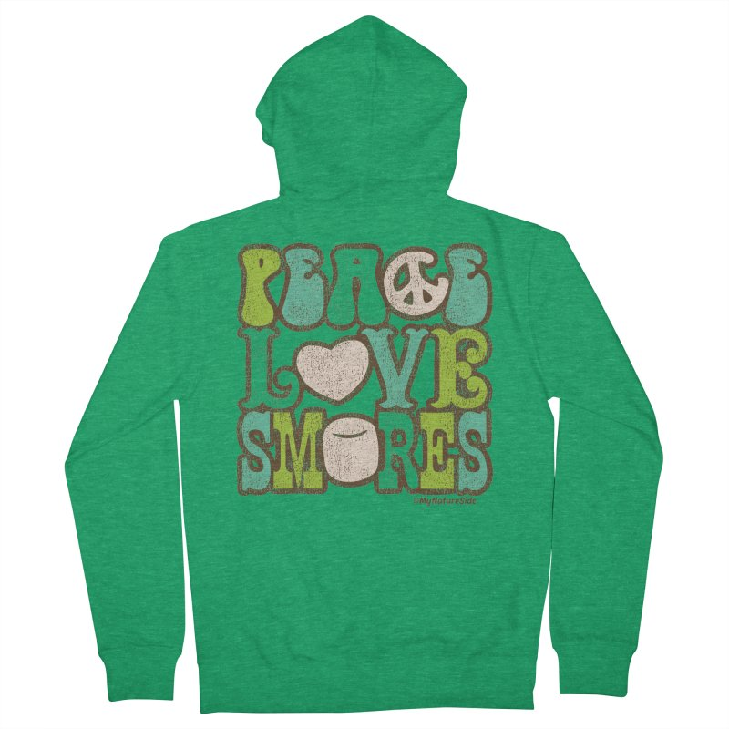 Peace Love Smores Women's Zip-Up Hoody by My Nature Side