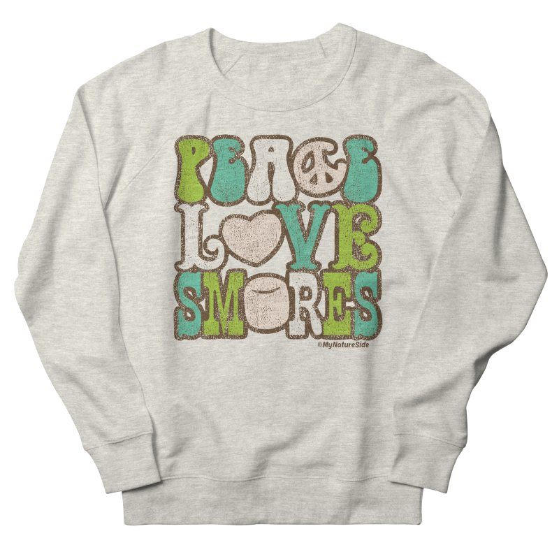 Peace Love Smores Men's Sweatshirt by My Nature Side