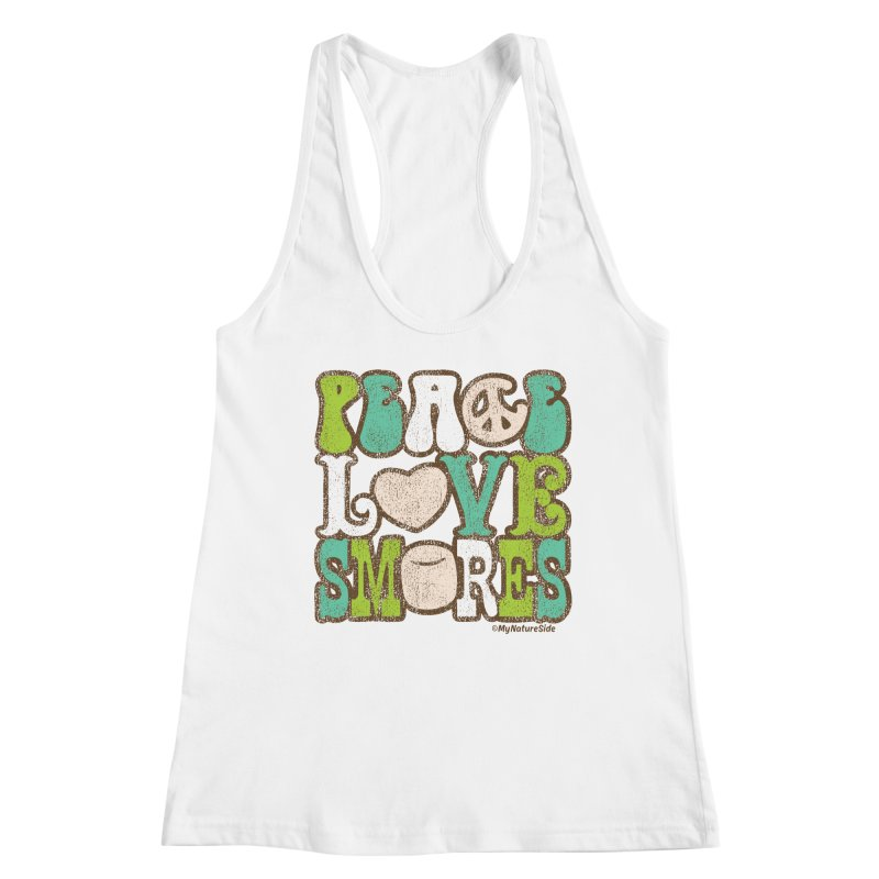 Peace Love Smores Women's Racerback Tank by My Nature Side
