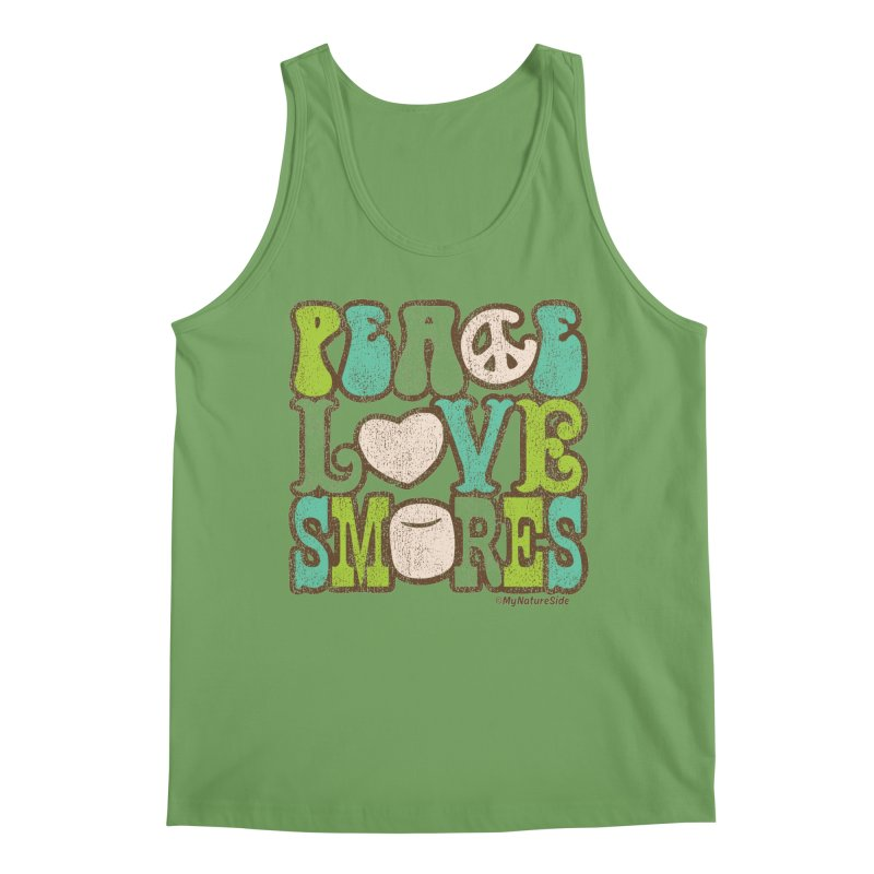 Peace Love Smores Men's Tank by My Nature Side