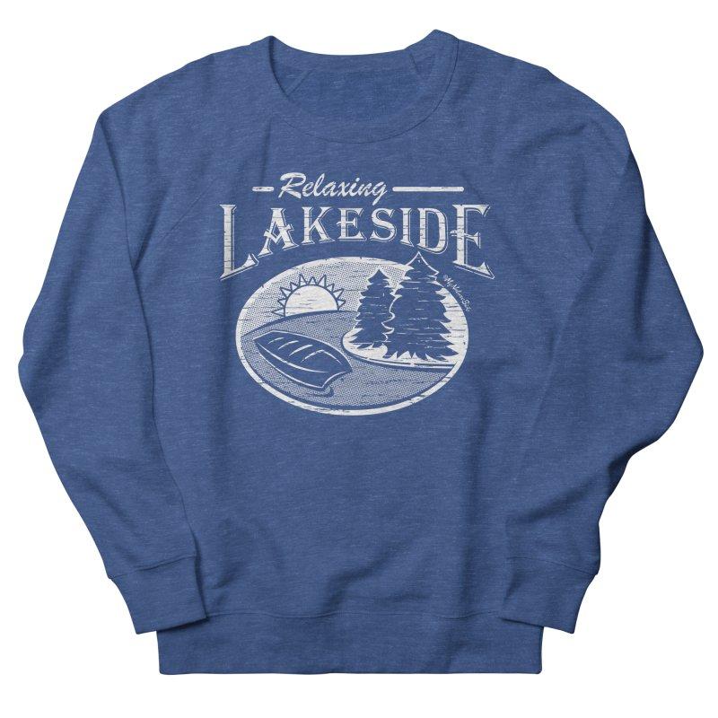 Relaxing Lakeside Men's Sweatshirt by My Nature Side
