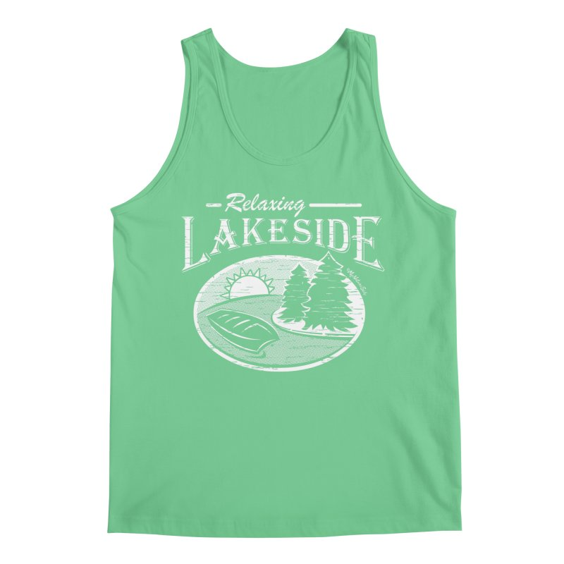 Relaxing Lakeside Men's Regular Tank by My Nature Side