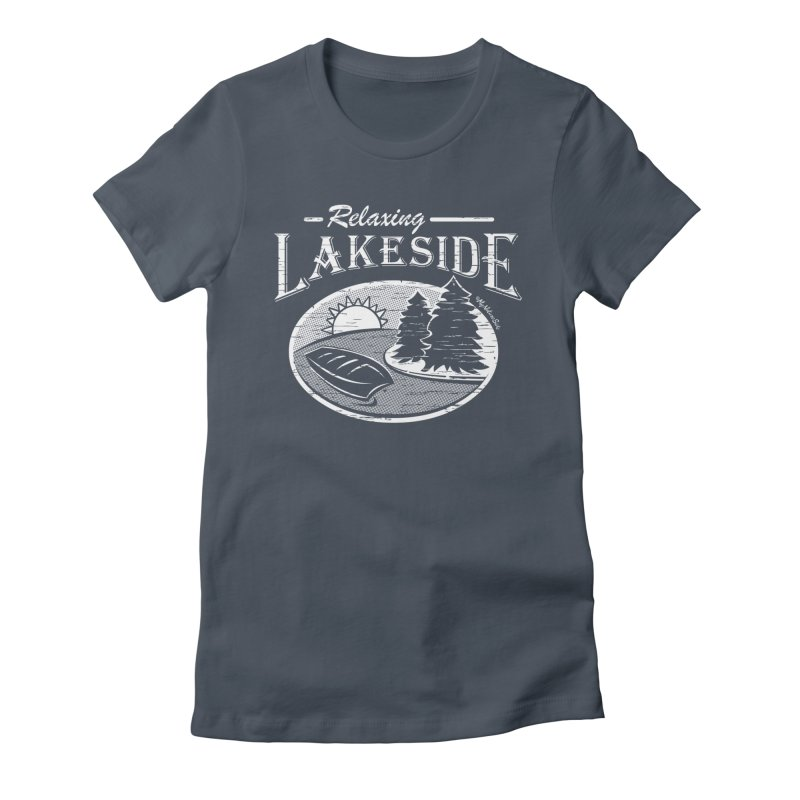 Relaxing Lakeside Women's T-Shirt by My Nature Side