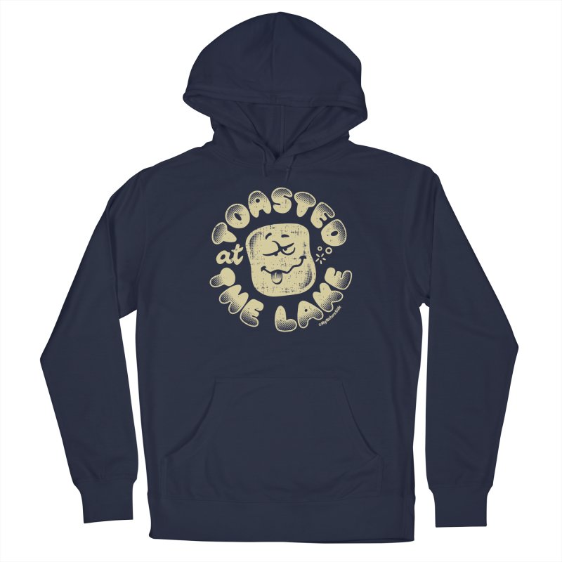 Toasted at the Lake Men's Pullover Hoody by My Nature Side