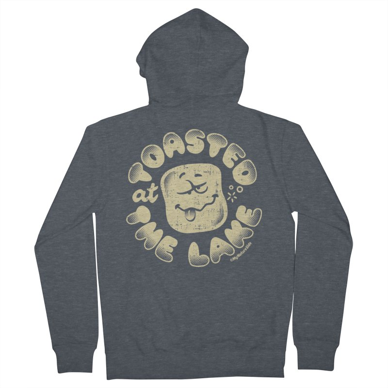 Toasted at the Lake Women's French Terry Zip-Up Hoody by My Nature Side