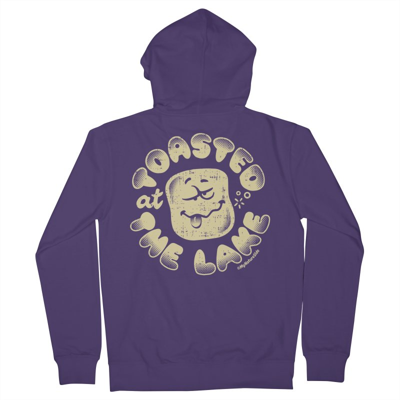 Toasted at the Lake Women's Zip-Up Hoody by My Nature Side