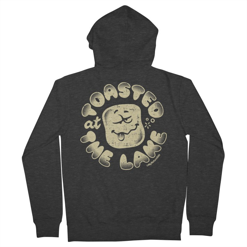 Toasted at the Lake Men's French Terry Zip-Up Hoody by My Nature Side