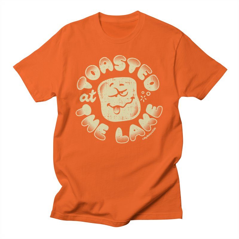 Toasted at the Lake Men's T-Shirt by My Nature Side