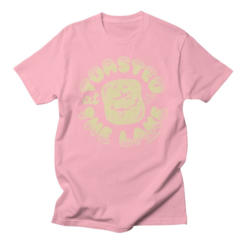 Toasted at the Lake Men's Regular T-Shirt by My Nature Side