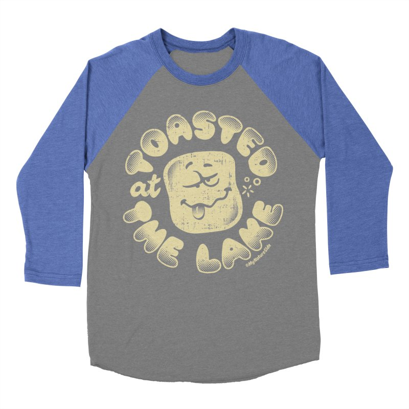 Toasted at the Lake Women's Baseball Triblend Longsleeve T-Shirt by My Nature Side