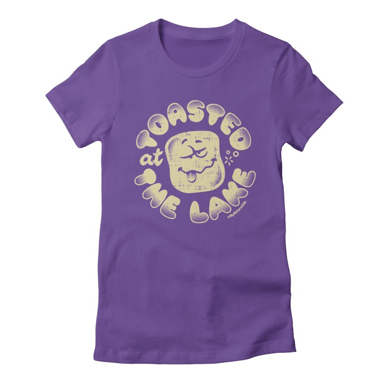 Toasted at the Lake Women's T-Shirt by My Nature Side