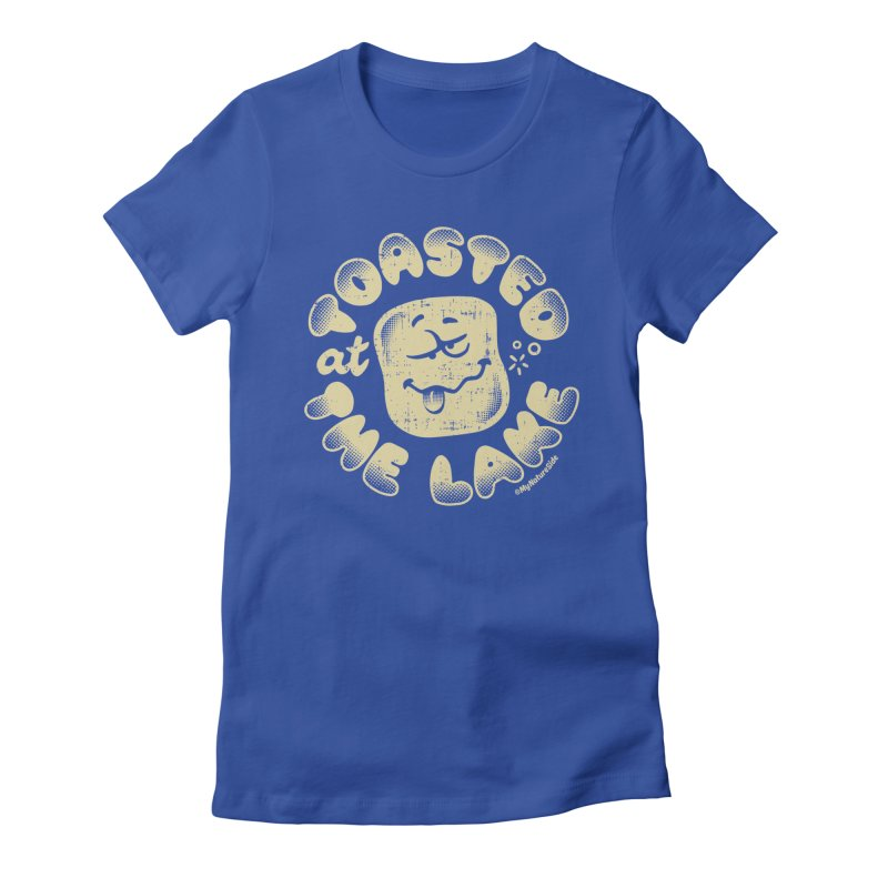 Toasted at the Lake Women's Fitted T-Shirt by My Nature Side