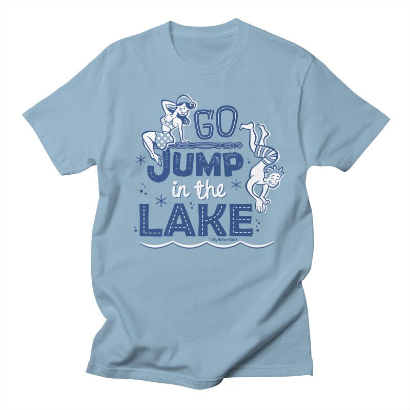 Go Jump In The Lake - Retro by My Nature Side