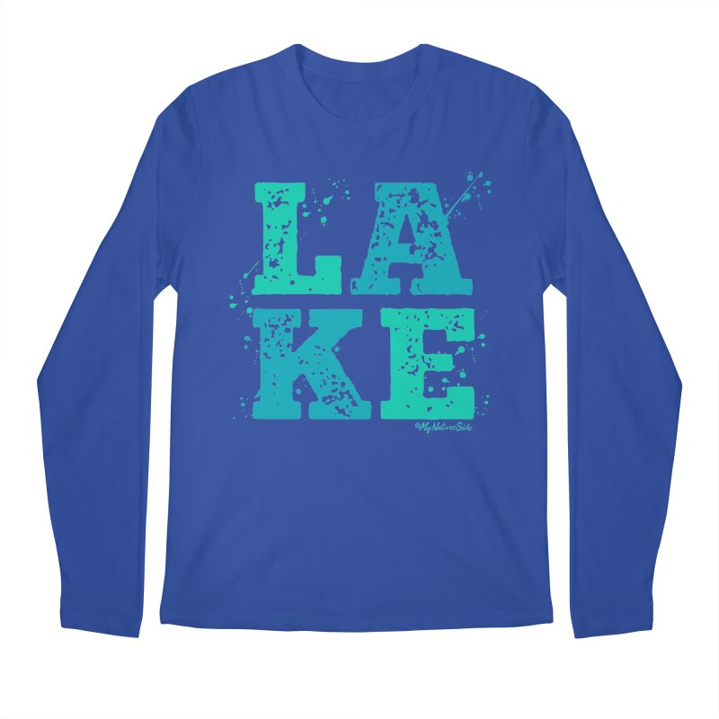 Lake Splatter Men's Longsleeve T-Shirt by My Nature Side