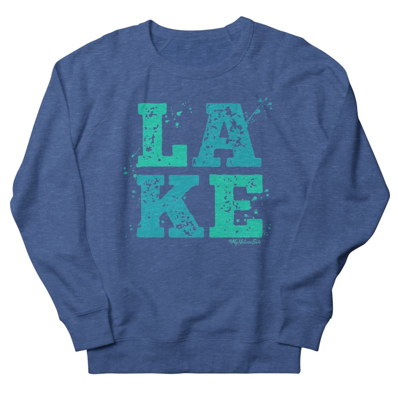 Lake Splatter Men's Sweatshirt by My Nature Side