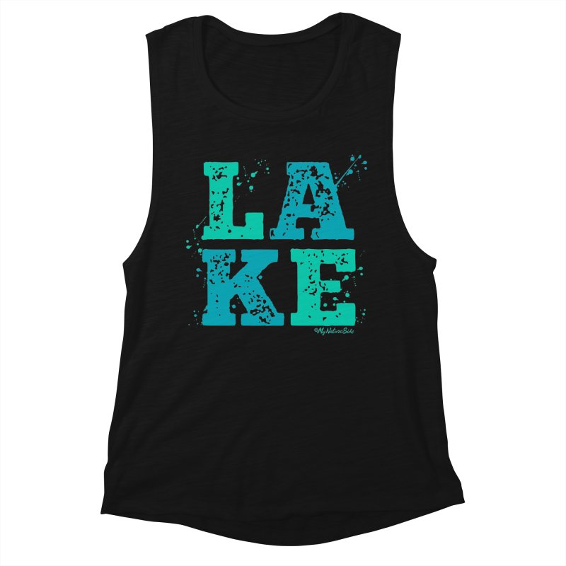 Lake Splatter Women's Tank by My Nature Side