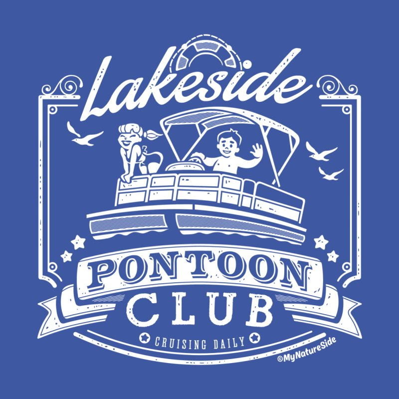 Lakeside Pontoon Club Men's Longsleeve T-Shirt by My Nature Side