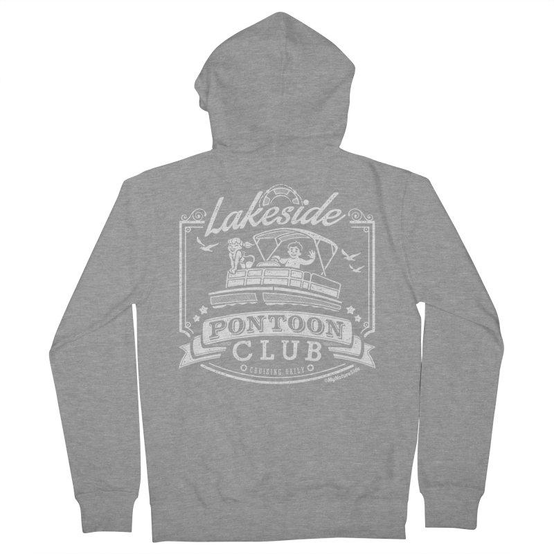 Lakeside Pontoon Club Women's Zip-Up Hoody by My Nature Side