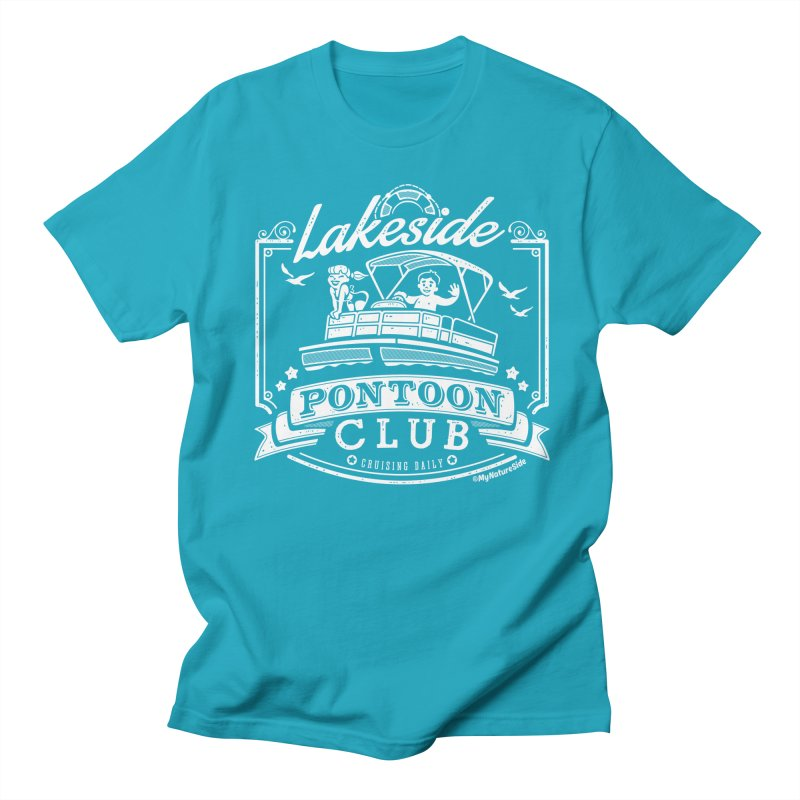 Lakeside Pontoon Club Men's T-Shirt by My Nature Side