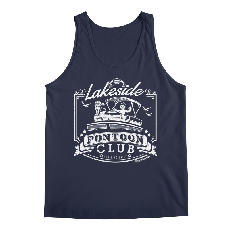 Lakeside Pontoon Club Men's Tank by My Nature Side