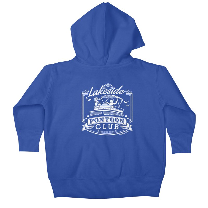 Lakeside Pontoon Club Kids Baby Zip-Up Hoody by My Nature Side