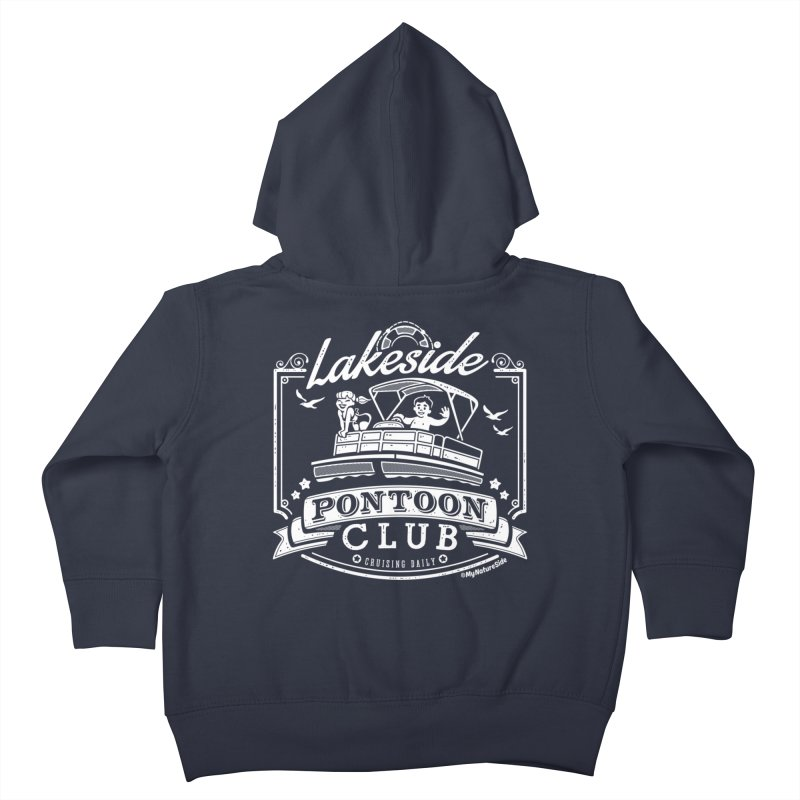 Lakeside Pontoon Club Kids Toddler Zip-Up Hoody by My Nature Side