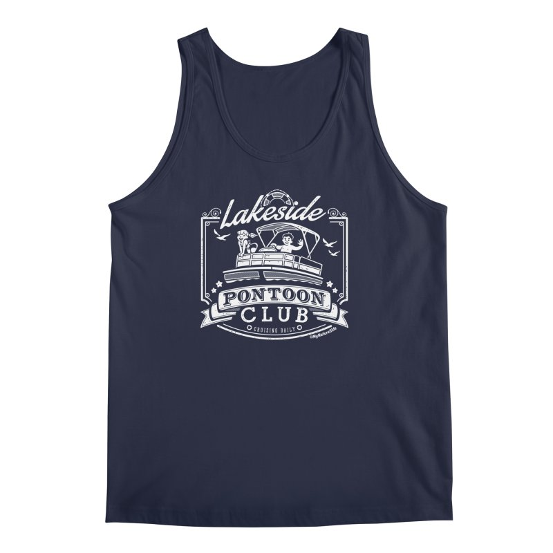 Lakeside Pontoon Club Men's Regular Tank by My Nature Side