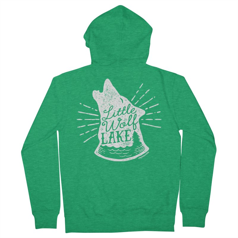 Little Wolf Lake - Howl Women's Zip-Up Hoody by My Nature Side