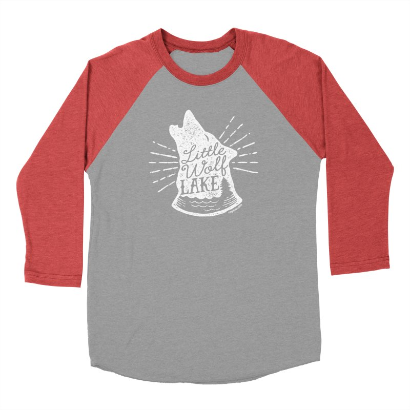 Little Wolf Lake - Howl Men's Longsleeve T-Shirt by My Nature Side