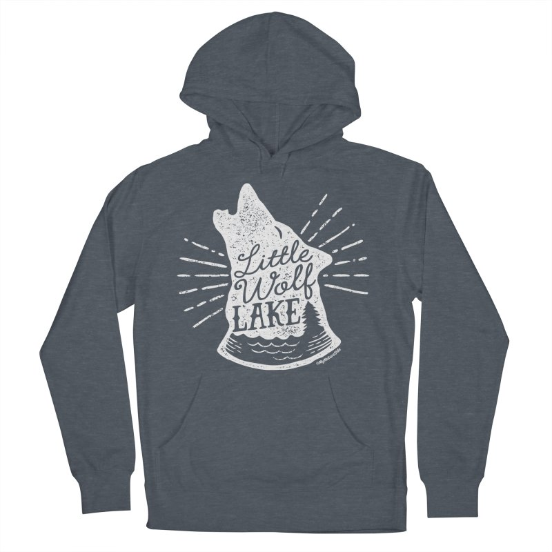 Little Wolf Lake - Howl Women's Pullover Hoody by My Nature Side