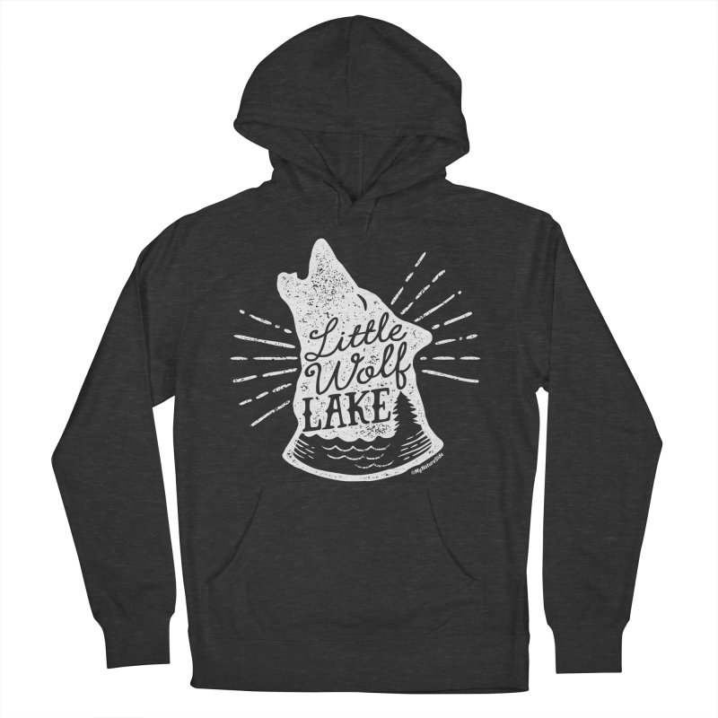 Little Wolf Lake - Howl Men's Pullover Hoody by My Nature Side