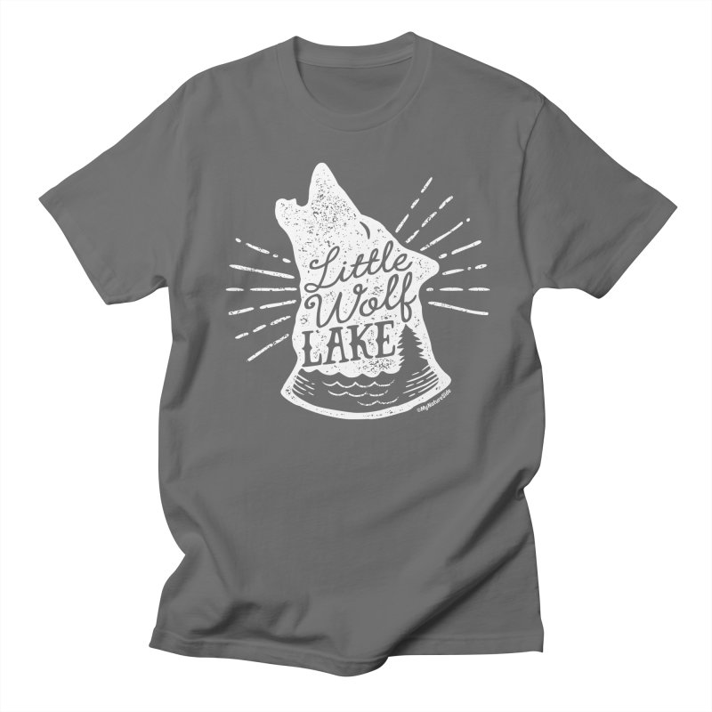 Little Wolf Lake - Howl Men's Regular T-Shirt by My Nature Side