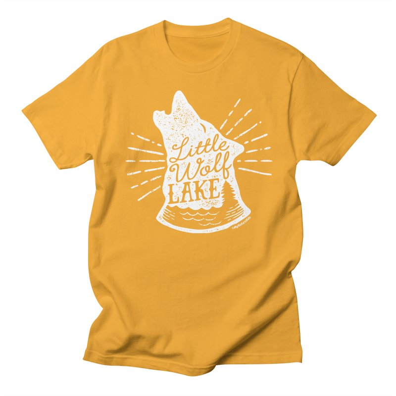 Little Wolf Lake - Howl Men's T-Shirt by My Nature Side