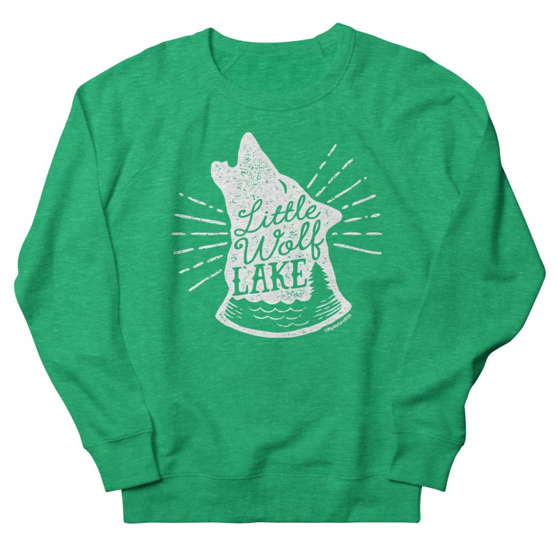 Little Wolf Lake - Howl Women's Sweatshirt by My Nature Side
