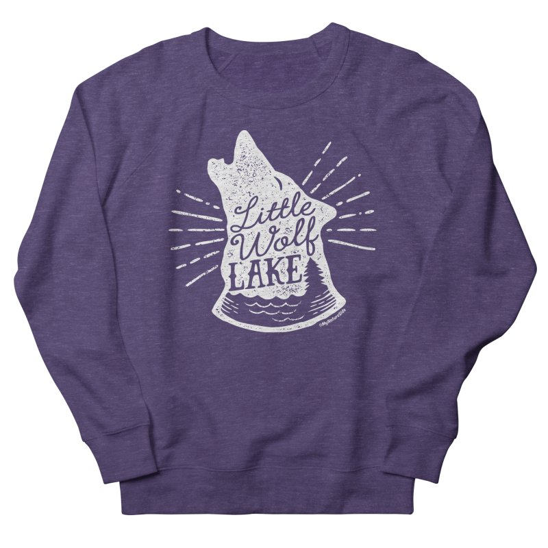 Little Wolf Lake - Howl Men's Sweatshirt by My Nature Side