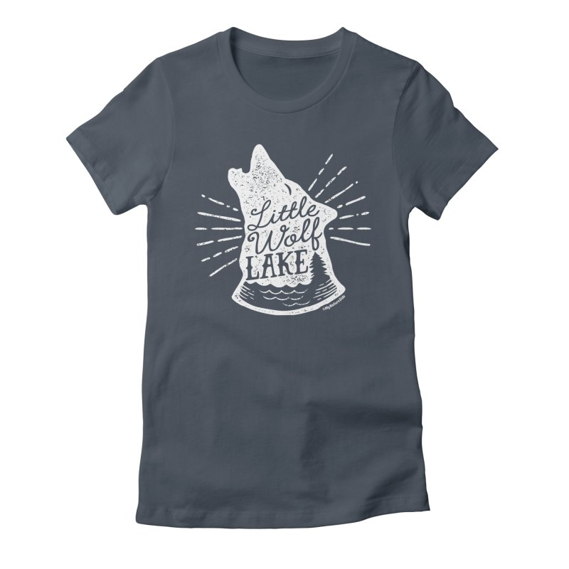 Little Wolf Lake - Howl Women's T-Shirt by My Nature Side