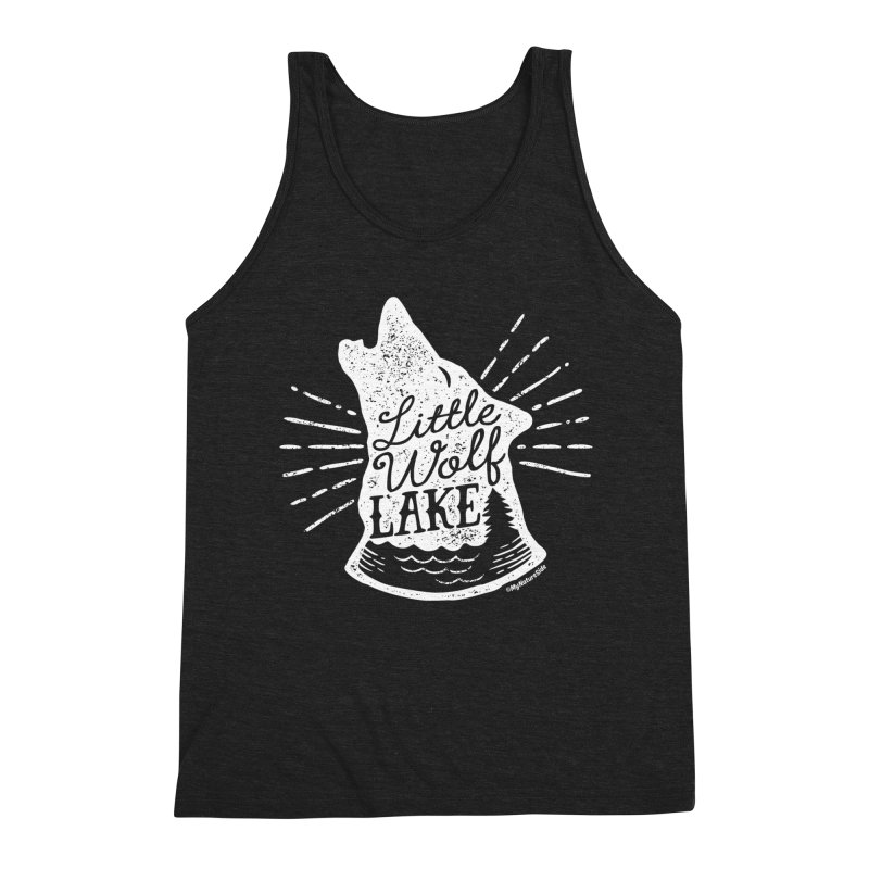 Little Wolf Lake - Howl Men's Tank by My Nature Side