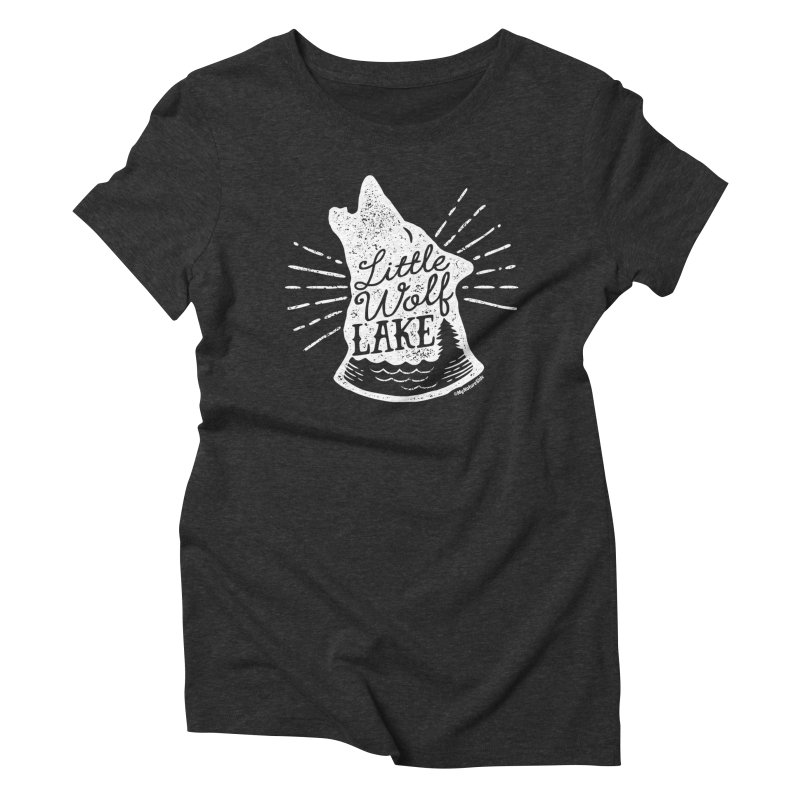 Little Wolf Lake - Howl Women's Triblend T-Shirt by My Nature Side