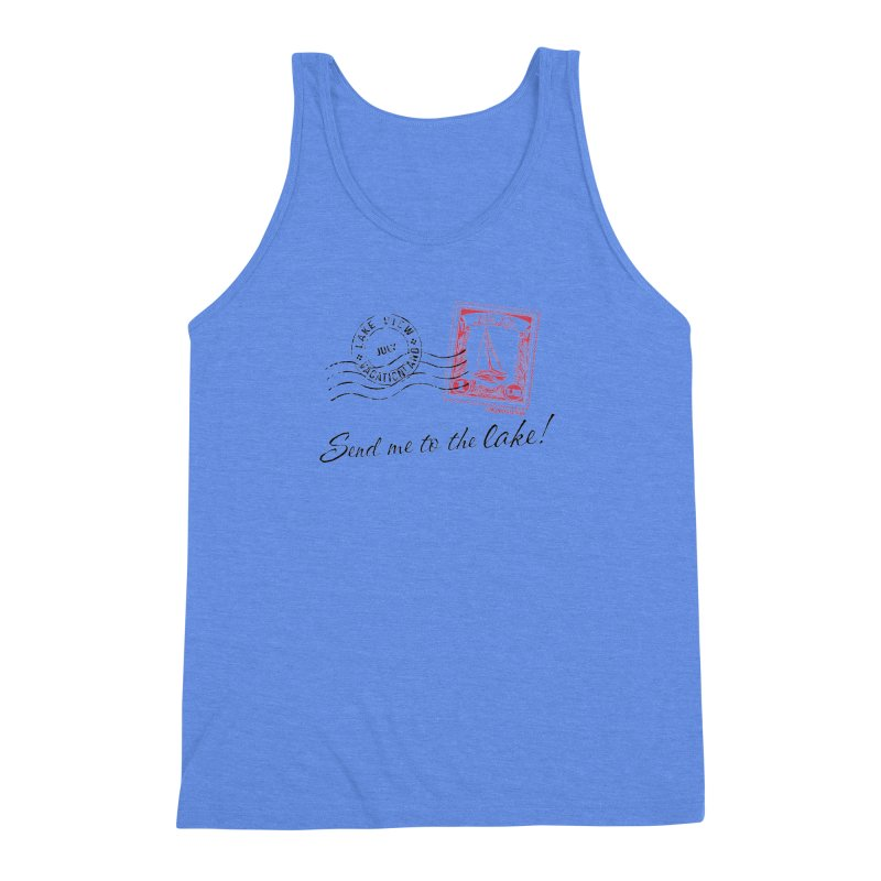 Send Me To The Lake Men's Triblend Tank by My Nature Side