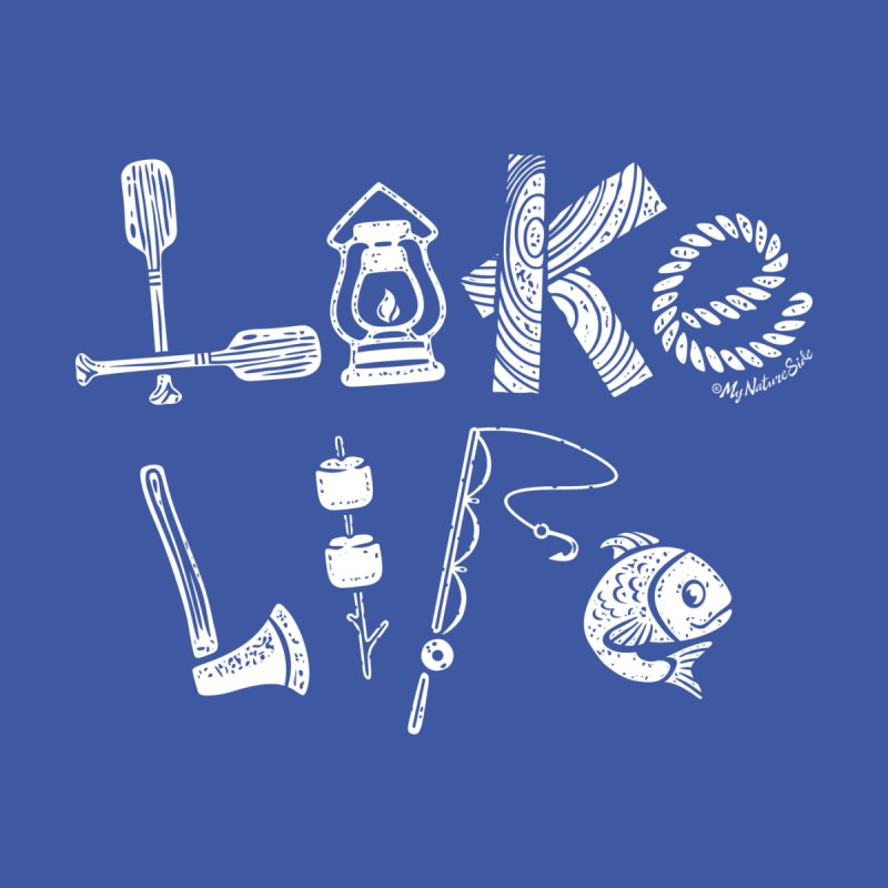 Lake Life - Icons Kids Baby T-Shirt by My Nature Side