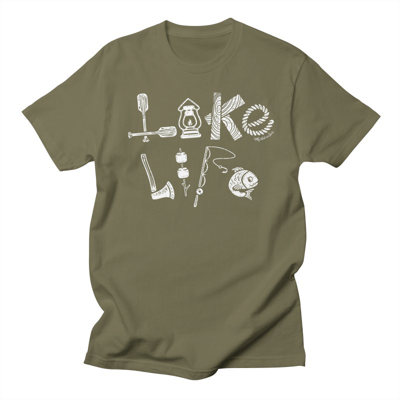Lake Life - Icons Men's T-Shirt by My Nature Side