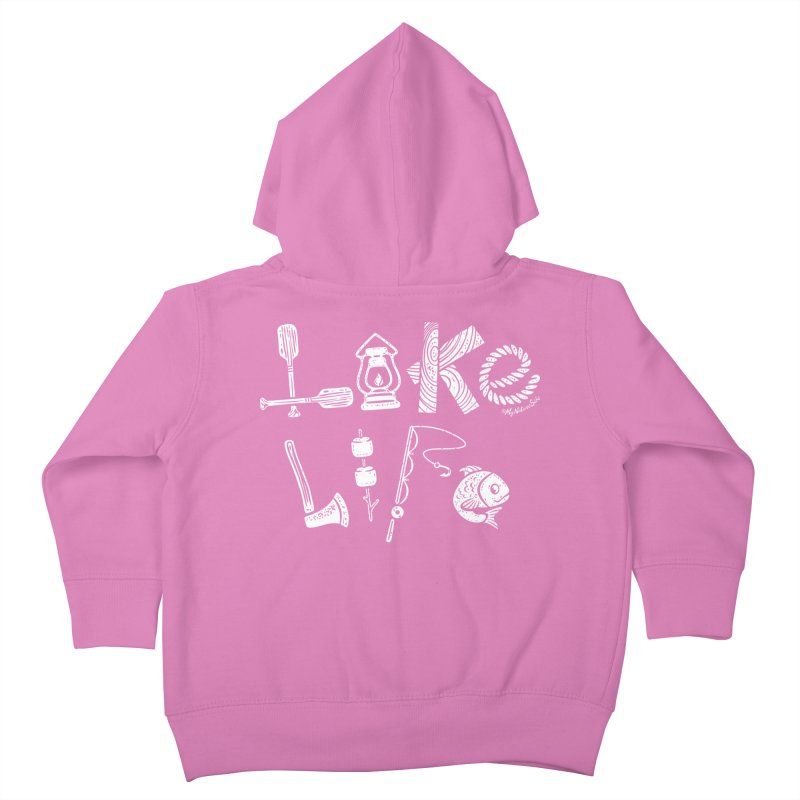 Lake Life - Icons Kids Toddler Zip-Up Hoody by My Nature Side