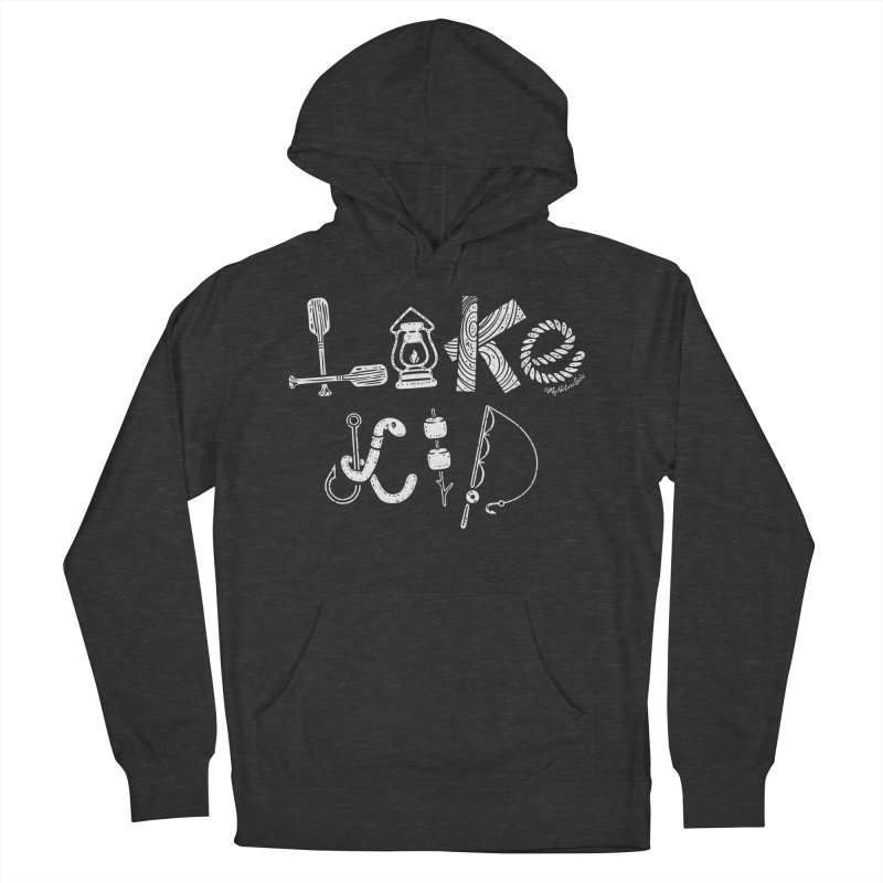 Lake Kid - Icons Women's French Terry Pullover Hoody by My Nature Side