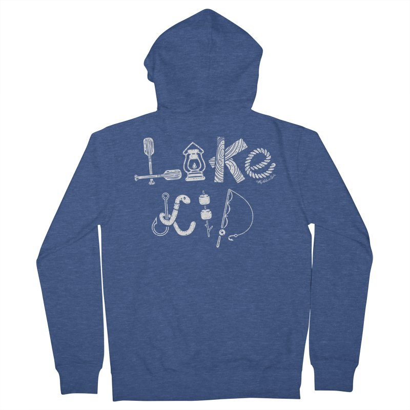 Lake Kid - Icons Women's French Terry Zip-Up Hoody by My Nature Side