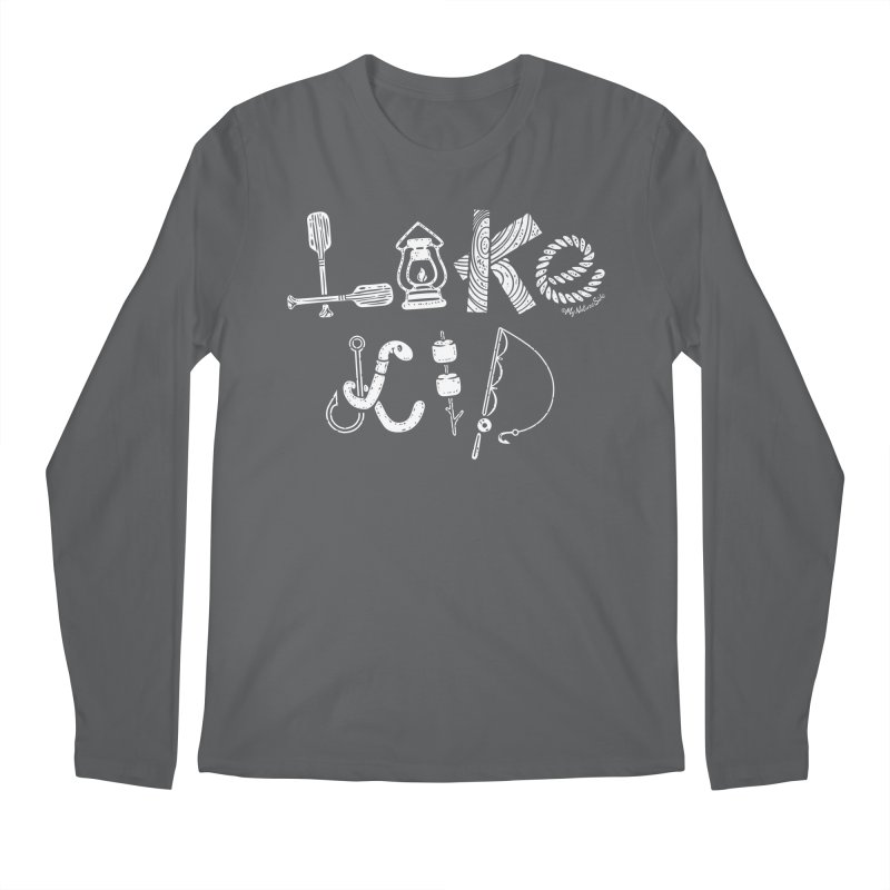 Lake Kid - Icons Men's Longsleeve T-Shirt by My Nature Side