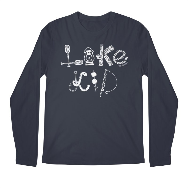 Lake Kid - Icons Men's Regular Longsleeve T-Shirt by My Nature Side